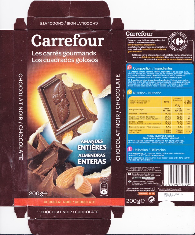 Belgian Chocolate Wrappers