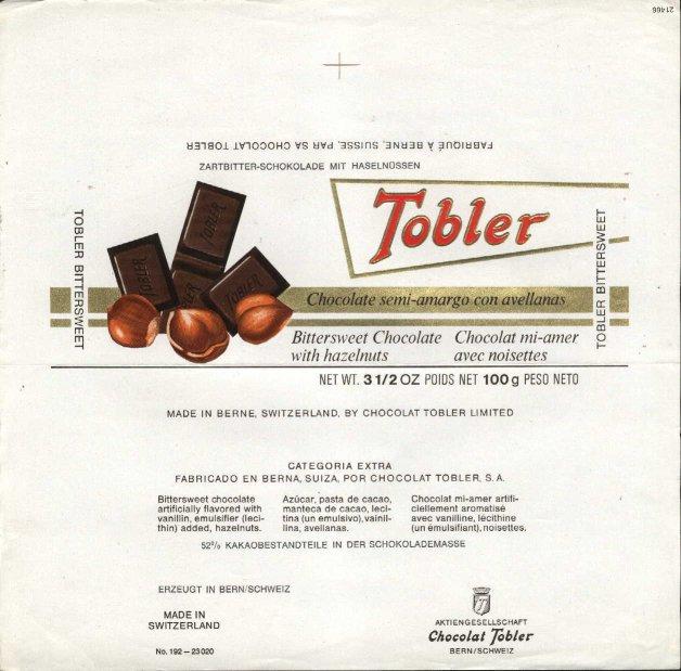 schokolade tobler o rum